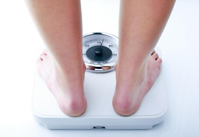 From this weight there is a cancer risk