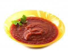 Sauce tomate et ail