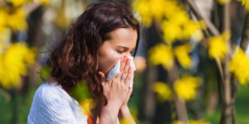 Allergie : 11 départements en alerte rouge