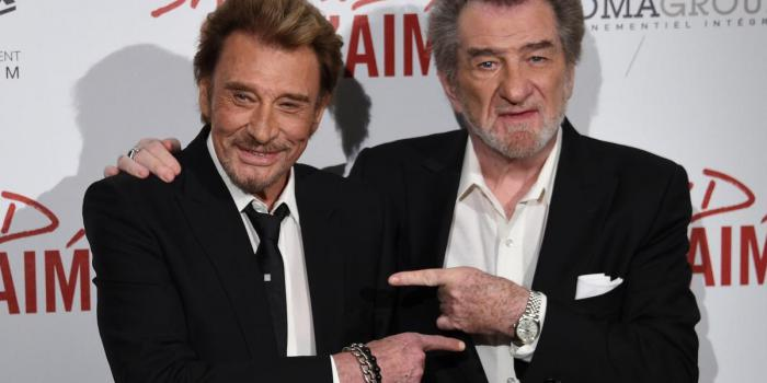 "Eddy Mitchell a vu Johnny : ""Il respire, il se bat"""