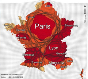 Carte des allergies