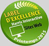 Label Excellence Harris Interactive Sites Web 2015