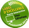 Label d'excellence Harris interactive Printemps 2014